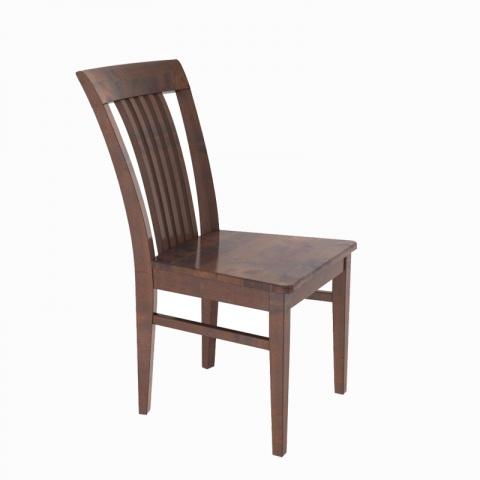 Krzesło do salonu drewniane, tapicerowane C 57